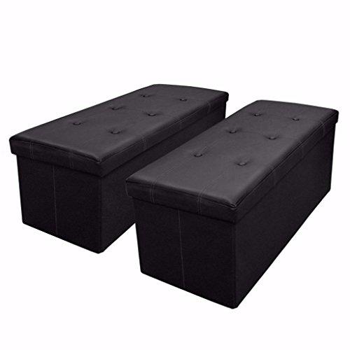 Otto Amp Ben 30 Quot Storage Ottoman 2pc Set Folding Toy Box