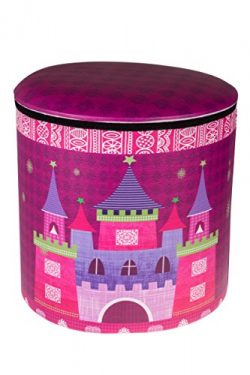 Clever Creations Cute Pink Princess Castle & Carriage Collapsible Storage Organizer Folding  ...