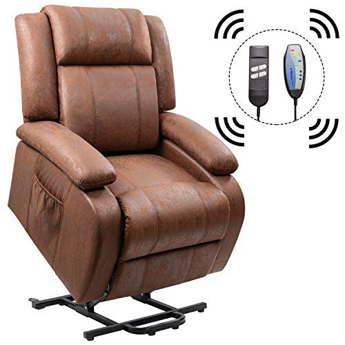 Homall Power Lift Recliner Chair With Massage Single Sofa