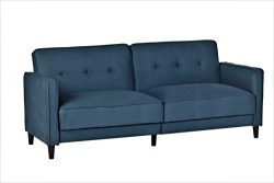 Container Furniture Direct SB-9036 Elizabeth Ultra Modern Tufted Convertible Sleeper Sofa Bed, 8 ...