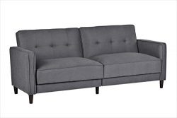 Container Furniture Direct SB-9037 Elizabeth Ultra Modern Tufted Convertible Sleeper Sofa Bed, 8 ...