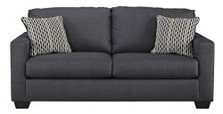 Benchcraft – Bavello Contemporary Sofa Sleeper – Full Size Mattress Included – ...