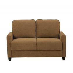 Lifestyle Solutions Scottsdale Loveseat in Taupe