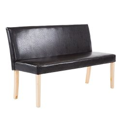 Cloud Mountain Bench Sofa Cushioned Loveseat Settee