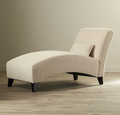 Modern Chaise Lounge Chair – This Polyester Microfiber Upholstered Lounger Is Perfect for  ...