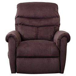 Lift Chair Recliner for Elderly Power Electric Seat with Remote Control Recliners – Chocolate