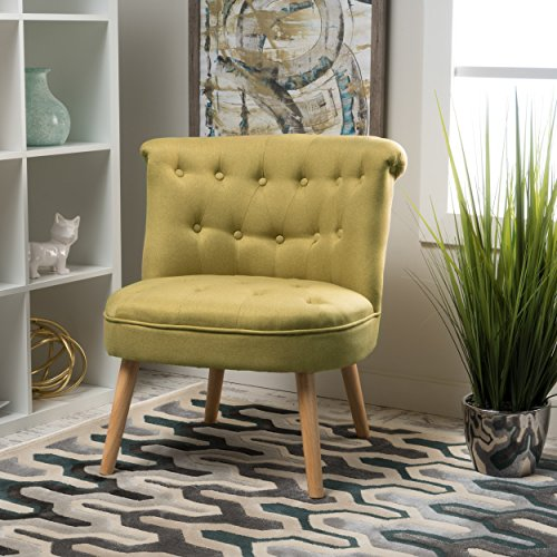 Christopher Knight Home 299780 Cicely Light Green Accent Chair