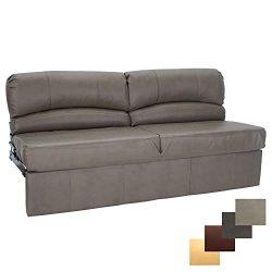 RecPro Charles RV Jackknife Sofa | Love Seat | Sleeper Sofa | Length Options 62″, 68&#8243 ...