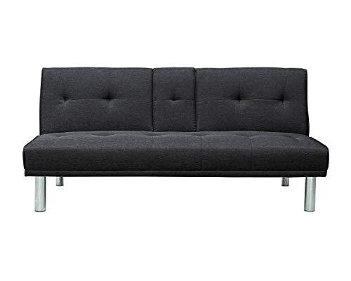 Pearington Futon Living Room Furniture – Multi Position Futon Sofa and Couch – Lay F ...