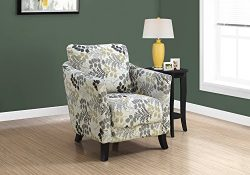 Monarch Specialties I 8183 Accent Chair, Beige