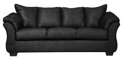 Ashley Furniture Signature Design – Darcy Contemporary Plush Sofa Sleeper – Full Siz ...