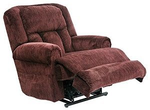 4847-40 (Vino) Catnapper Burns Power Lift Recliner Chair.-Rated for 400 lbs. 79 in. Ext. Lgth. D ...