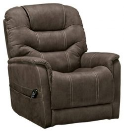 Signature Design by Ashley 2160412 Ballister Power Lift Recliner Gunmetal