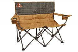 Kelty Loveseat Camping Chair, Canyon Brown/Belluga – Folding Double Camp Chair for Festivals, Ca ...