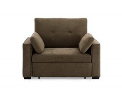 Mechali Products Furniture Sofa Sleeper Convertible into Lounger/Love seat/Bed – Twin, Ful ...