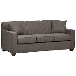 Stone & Beam Fischer Queen-Sized Sleeper Sofa, 79″W, Stone Fabric