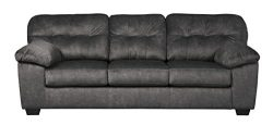Ashley Furniture Signature Design – Accrington Contemporary Sofa Sleeper – Queen Siz ...