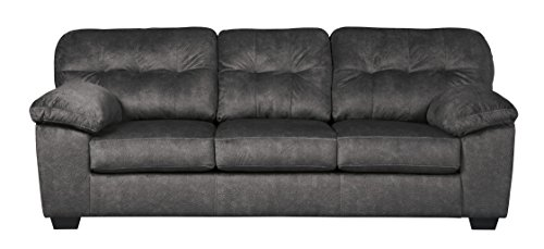 Ashley Furniture Signature Design – Accrington Contemporary Sofa Sleeper – Queen Siz ...