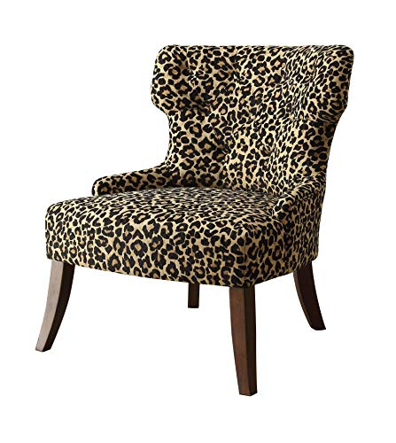 Major-Q Mid-Century Style Modern Linen Accent Chair for Living Room/Bedroom, Tight Back and Seat ...