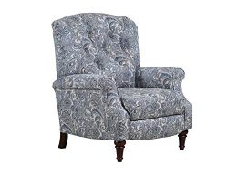 Lane Home Furnishings 6003-11 Zulu Indigo Hi Leg Recliner