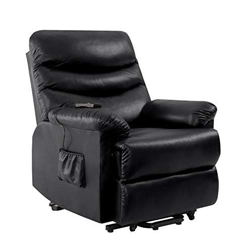 Domesis Olathe Wall Hugger Power Recline And Lift Chair In