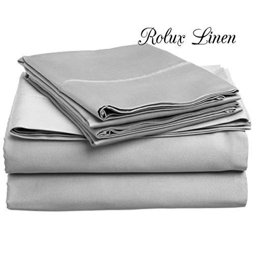Rolux Linen Queen Sleeper Sofa Bed Sheet Set