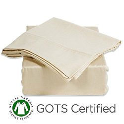 Gotcha Covered American Leather Comfort Sleeper 100% Organic Cotton Sateen Sofa Sleeper Sheet Se ...