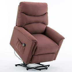 Mecor Power Lift Chair for Elderly Electric Lift Recliner Chair with Remote Control Living Room  ...