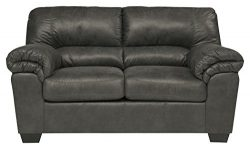 Ashley Furniture Signature Design – Bladen Contemporary Plush Upholstered Loveseat – ...