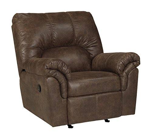 Ashley Furniture Signature Design – Bladen Contemporary Plush Upholstered Rocker Recliner  ...