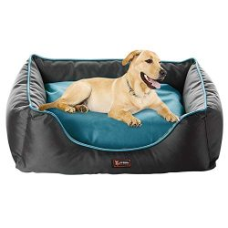 UFBemo Orthopedic Dog Bed – Snuggly Sleeper Lounge Sofa Removable Ultimate Pet Dog Bed, Pa ...