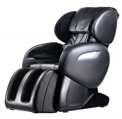 Zero Gravity Full Body Electric Shiatsu UL Approved Massage Chair Recliner with Built-in Heat Th ...