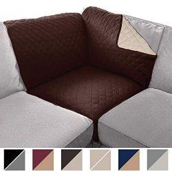 Sofa Shield Original Patent Pending Sectional Corner (Sectional Corner: 30×30) Slipcover, D ...