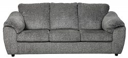Ashley Furniture Signature Design – Azaline Contemporary Sofa Sleeper – Full Size Ma ...