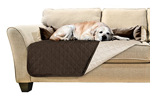 FurHaven Pet Furniture Cover | Sofa Buddy Reversible Furniture Cover Protector Pet Bed for Dogs  ...