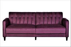 US Pride Furniture SB9028 Grattan Luxury Sofa Bed Violet/Eggplant