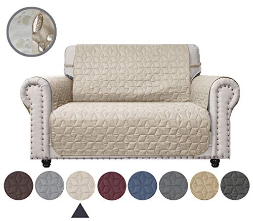 Ameritex Loveseat Cover Water Resistant Quilted Furniture