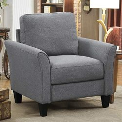 Harper&Bright Designs Living Room Sets Furniture Armrest Sofa Single Chair Sofa Loveseat Cha ...