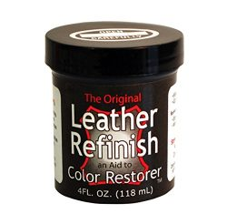 Leather Refinish Color Restorer Dye, Dark Brown