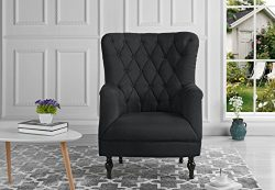 Housel Living HSL-A25-FB Armchair, Dark Green