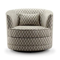Rosevera SH-H6 Hearst Swivel Accent Chair Beige