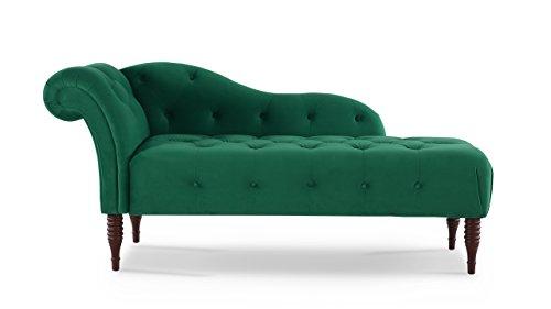 Jennifer Taylor Home 62030-950 Samuel Living-Room-Chaise-lounges, Ultramarine Green