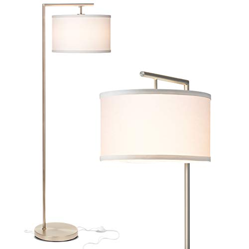 Brightech Montage Modern – LED Floor Lamp for Living Room- Standing Accent Light for Bedro ...