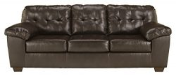 Ashley Furniture Signature Design – Alliston Contemporary Sleeper Sofa – Queen Size  ...