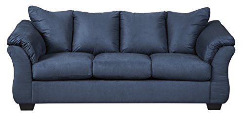Signature Design by Ashley 7500736 Darcy Contemporary Plush Sofa Sleeper – Full Size Mattr ...