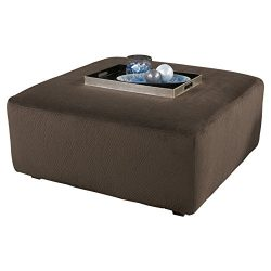 Ashley Furniture Signature Design – Jessa Place Oversized Accent Ottoman – Contempor ...