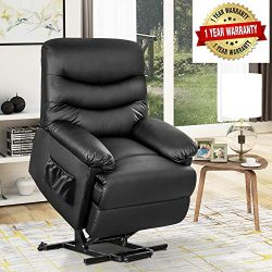 Recliner Chair Lift Chair for Elderly – Electric Recliner Chair with Remote Control for Li ...