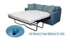 DynastyMattress 4.5-inch Gel Memory Foam Sofa Mattress