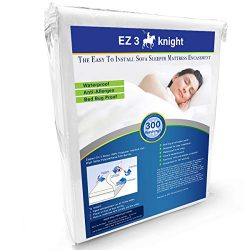 EZ3 Knight Sofa Sleeper Mattress Encasement – Queen Size Mattress Protector Designed with  ...