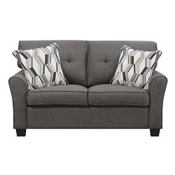 Artum Hill UP3-884 Olivia Loveseat, Espresso